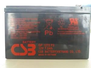 Battery CSB GP 1272 F2 12v 7,2 ah