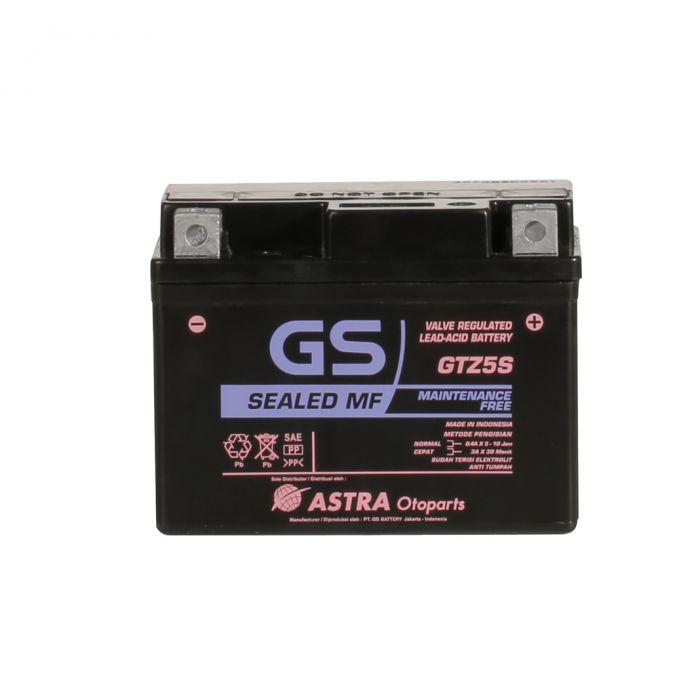 Aki GS ASTRA MF GTZ-5S